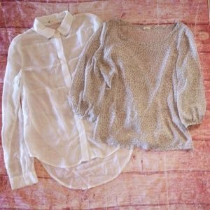 Bundle of A Is For Audrey/Cotton Candy Sheer Tops